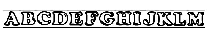 ijifufont  Blade Font UPPERCASE