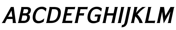 IkariusADFNo2Std-BoldItalic Font UPPERCASE