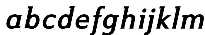 IkariusADFNo2Std-BoldItalic Font LOWERCASE
