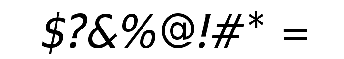 IkariusADFNo2Std-Italic Font OTHER CHARS