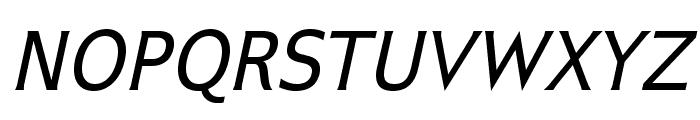IkariusADFNo2Std-Italic Font UPPERCASE