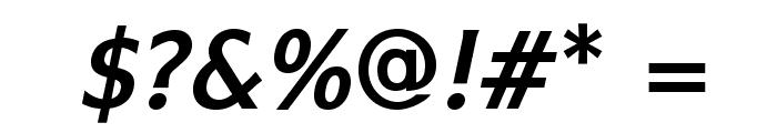 IkariusADFStd-BoldItalic Font OTHER CHARS