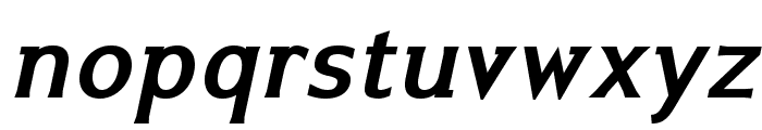 IkariusADFStd-BoldItalic Font LOWERCASE