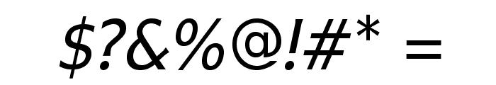 IkariusADFStd-Italic Font OTHER CHARS