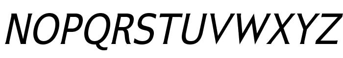IkariusADFStd-Italic Font UPPERCASE