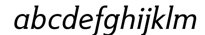IkariusADFStd-Italic Font LOWERCASE