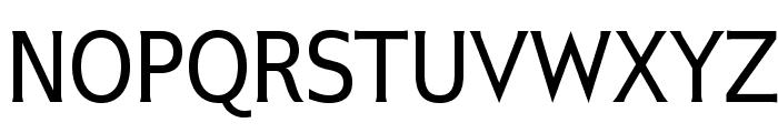 IkariusADFStd-Regular Font UPPERCASE