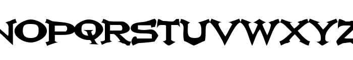 Ikarus Vulture Font UPPERCASE
