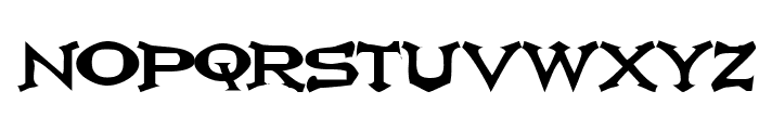 Ikarus Vulture Font LOWERCASE