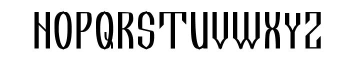 IkonWrite Font UPPERCASE