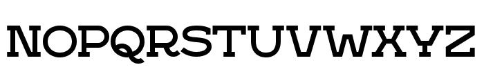 IkraSlab Font UPPERCASE