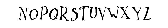 Ikusuteito Font UPPERCASE