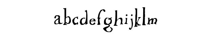 Ikusuteito Font LOWERCASE