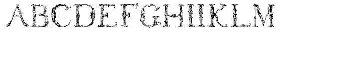 Ikewund Regular Font UPPERCASE