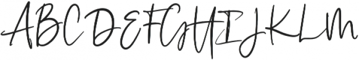 Illumination Regular otf (400) Font UPPERCASE