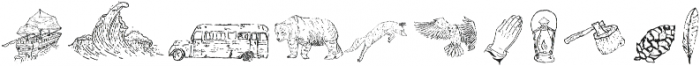 Illustration Crawley Illustration Crawley otf (400) Font LOWERCASE