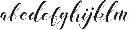 illusias otf (400) Font LOWERCASE