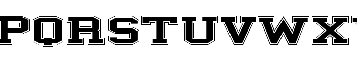 ILLINOIS block Font UPPERCASE