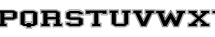 ILLINOIS block Font LOWERCASE