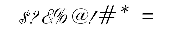 ILS Script Font OTHER CHARS