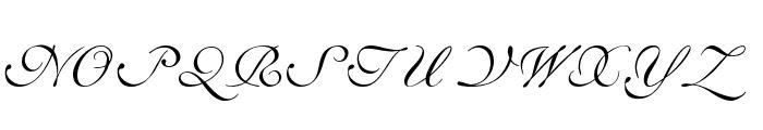 ILS Script Font UPPERCASE