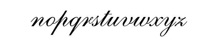 ILS Script Font LOWERCASE