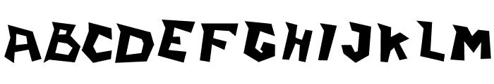 ILearnFromWall Font LOWERCASE