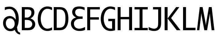 ILikeOffenbach Font UPPERCASE