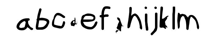 ILikeTurtles Font LOWERCASE