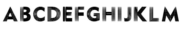 Illusion Font Regular Font UPPERCASE