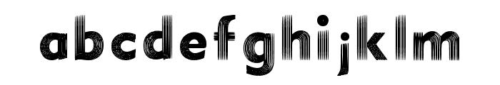 Illusion Font Regular Font LOWERCASE