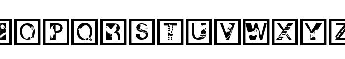 IllustratedAlphabet Font LOWERCASE