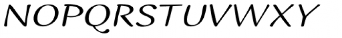 Ilbit Expanded Font UPPERCASE