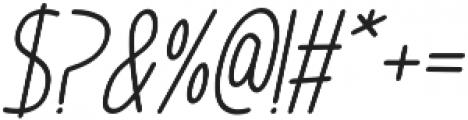 Im Wunderland otf (400) Font OTHER CHARS