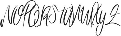 Imagination ttf (400) Font UPPERCASE