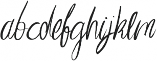 Imagination ttf (400) Font LOWERCASE