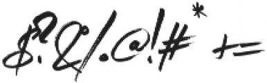 Imogen Agnes Regular otf (400) Font OTHER CHARS