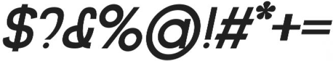 Impala Bold Italic otf (700) Font OTHER CHARS