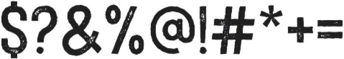 Imperfecta Rough Regular ttf (400) Font OTHER CHARS