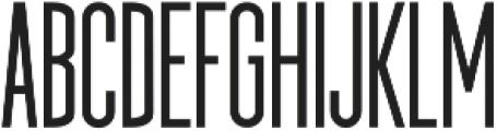 Imperfecto Regular Regular ttf (400) Font UPPERCASE