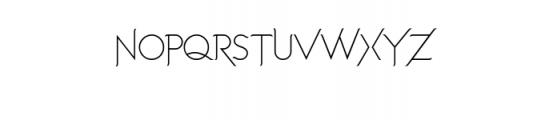 Imagination Alternative.ttf Font UPPERCASE