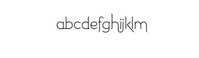 Imagination Alternative.ttf Font LOWERCASE