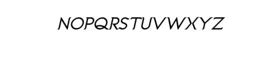 Imagination Bold Italic.ttf Font UPPERCASE