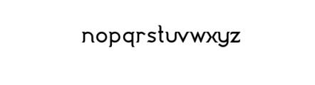 Imagination Bold.ttf Font LOWERCASE