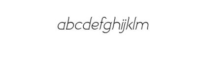 Imagination Italic.ttf Font LOWERCASE