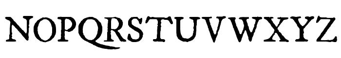 IM FELL DW Pica Roman SC Font UPPERCASE