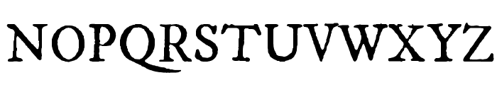IM FELL DW Pica Roman Font UPPERCASE