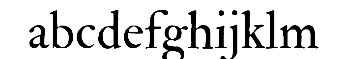 IM FELL Double Pica Roman  Font LOWERCASE