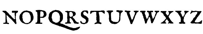 IM FELL English Roman SC Font LOWERCASE