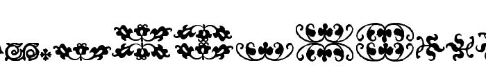 IM FELL FLOWERS 2 Font UPPERCASE